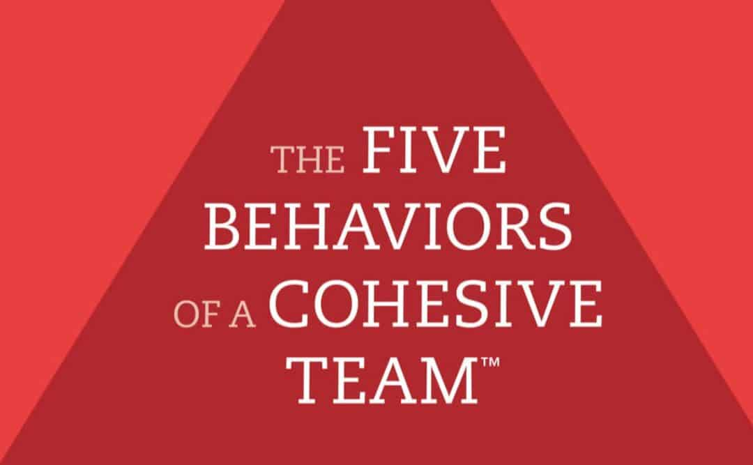 The Five Bahaviors of a Cohesive Team®   Call to Action for Dutch-, and International Executive Teams